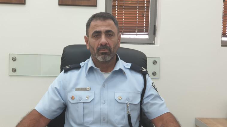 ניצב שמעון לביא  (צילום: דוברות המשטרה)