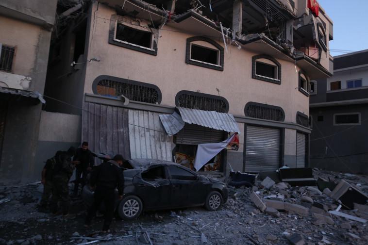הריסות ביתו של בהאא אבו אל עטא. צילום: מג'די פתחי/TPS
