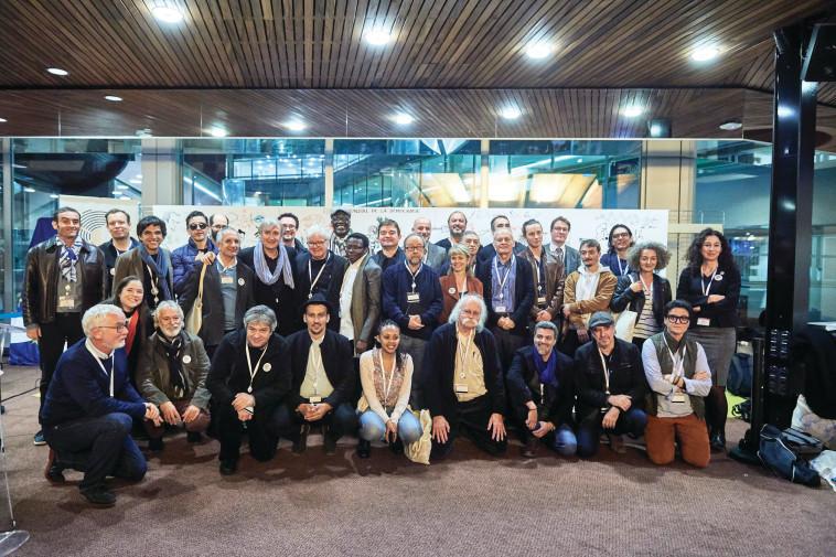 כנס הקריקטוריסטים הבינלאומי שנערך בשטרסבורג. צלם: סנדרו וולטין