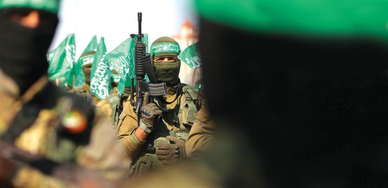 חמושי חמאס, צילום: רויטרס
