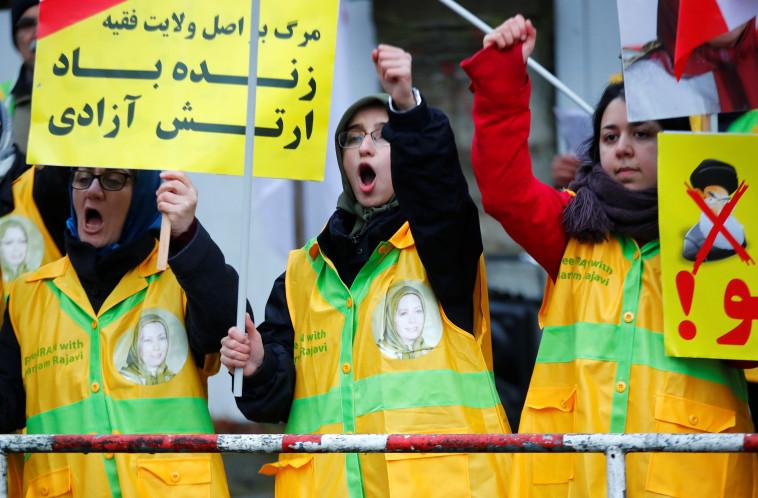 ההפגנות באיראן (צילום: רויטרס)