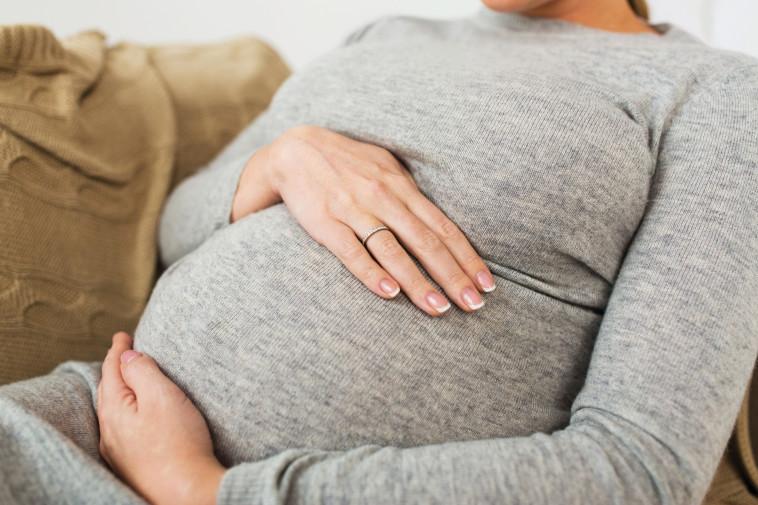 אישה בהריון (צילום: אילוסטרציה: אינג אימג')