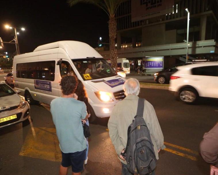 תחבורה ציבורית בשבת, צילום: אבשלום ששוני