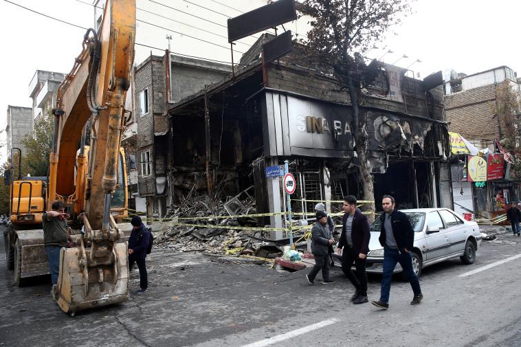 מחאה באיראן, צילום: רויטרס