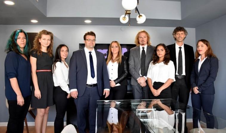 צוות משרד עורכי הדין כהן, דקר, פקס וברוש. צילום: שירי דקר