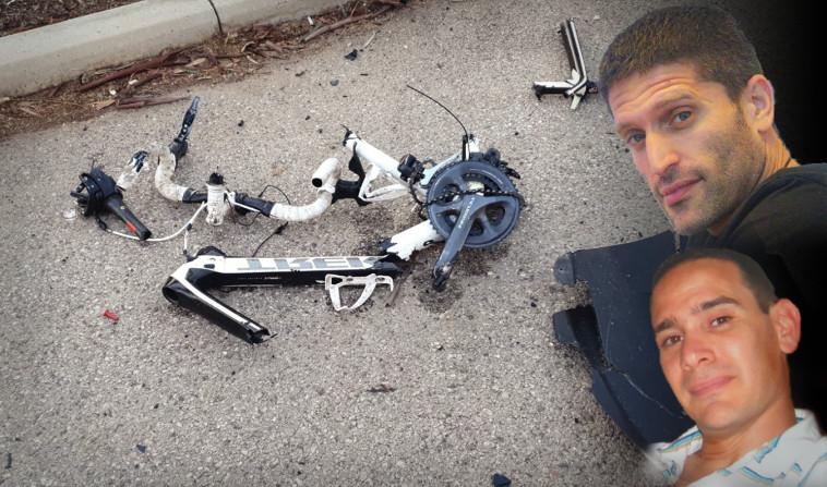 תומר ויינשטיין ויניב לוגסי הרוגי תאונת האופניים (צילום: באדיבות המשפחה)