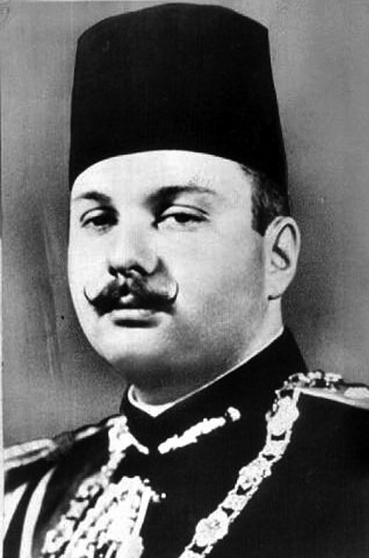 פארוק מלך מצרים, צילום: ויקיפדיה