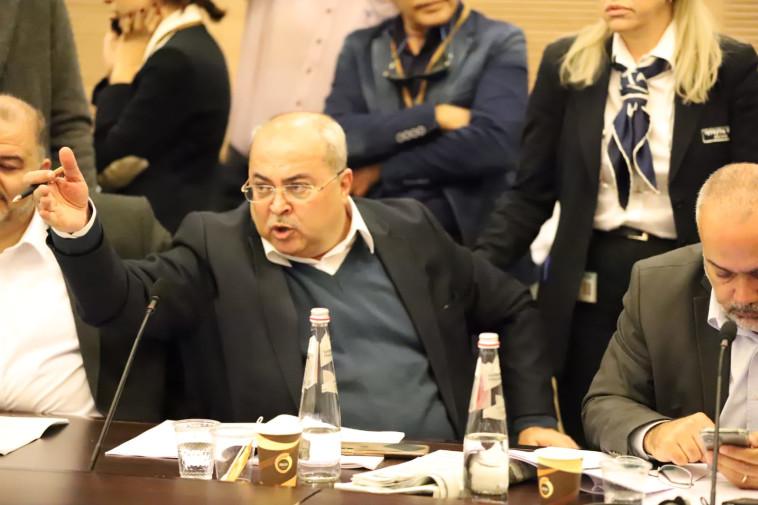 אחמד טיבי (צילום: סעיד רוקן)