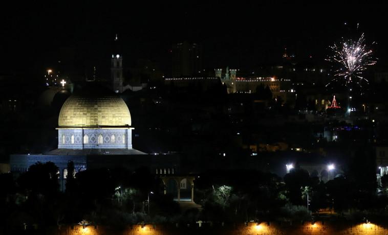 חגיגות בירושלים, צילום: רויטרס
