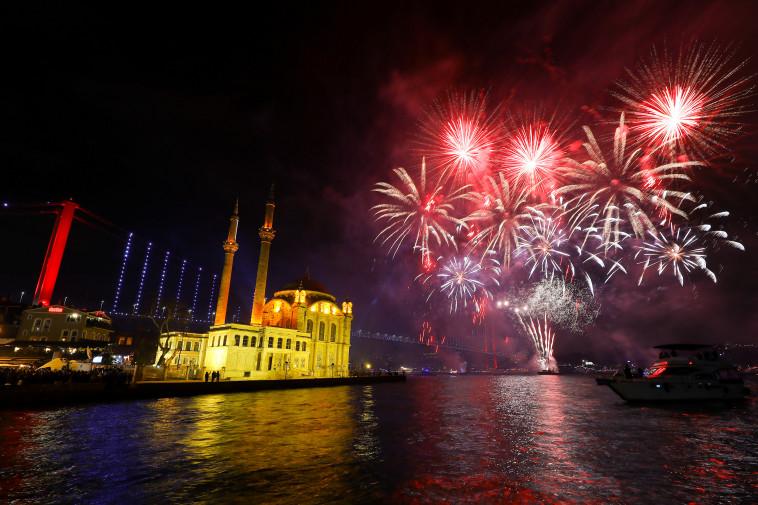 חגיגות באיסטנבול, צילום: רויטרס