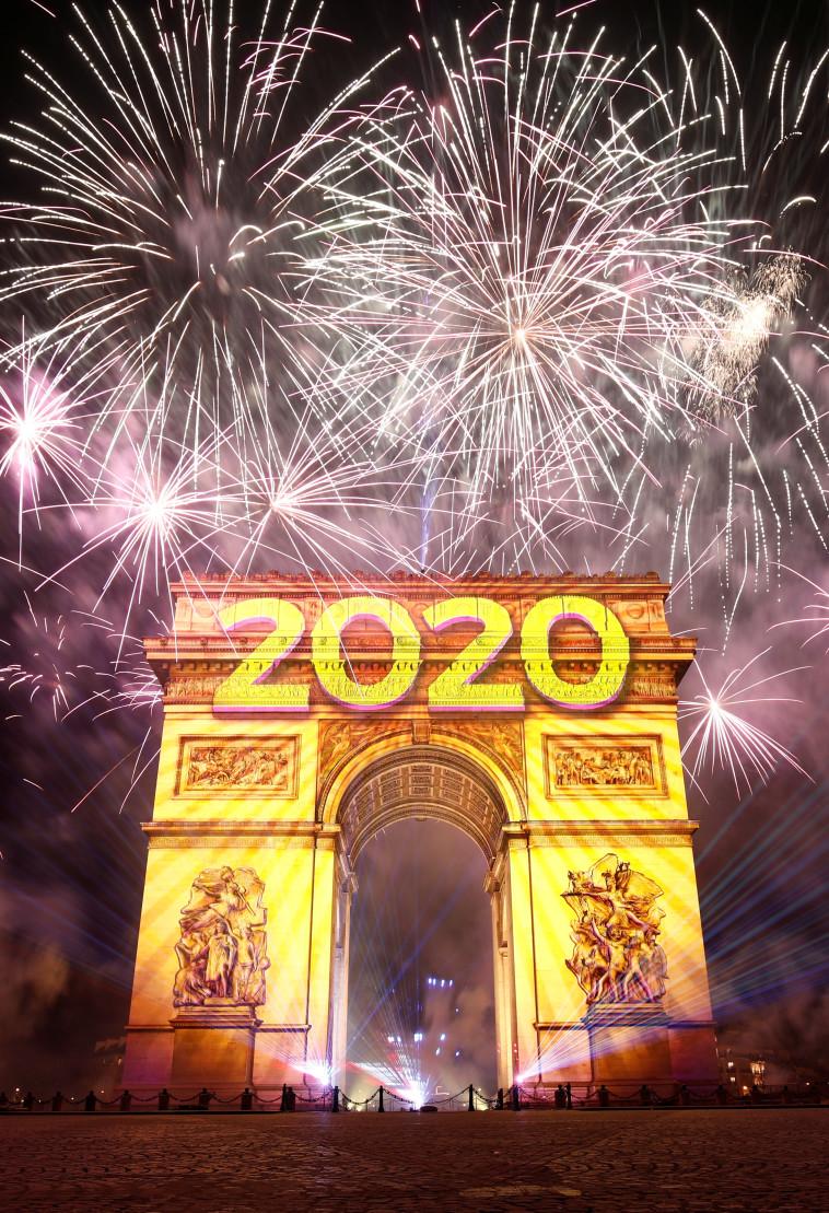 חגיגות בפריז, צילום: רויטרס