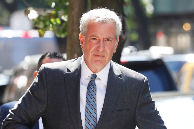 ביל דה בלאזיו, ראש עיריית ניו יורק. צילום: רויטרס