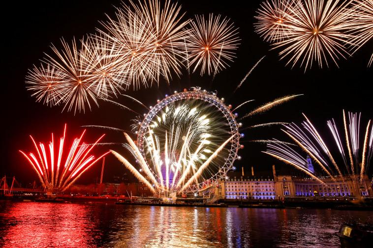 חגיגות בלונדון, צילום: רויטרס
