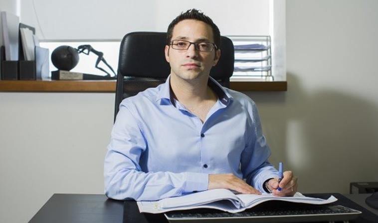 """עורך הדין אופיר בן משה. צילום: משרד עו""""ד אופיר בן משה."""