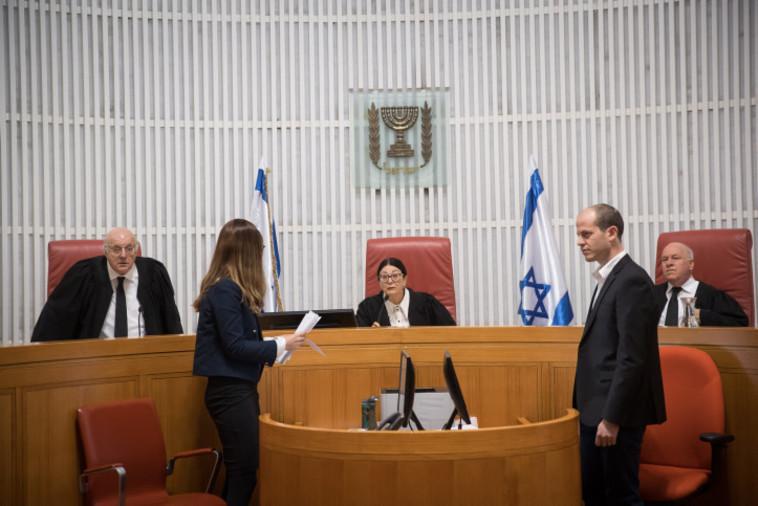 שופטי בית המשפט העליון - עוזי פוגלמן, אסתר חיות, חנן מלצר (צילום: יונתן זינדל, פלאש 90)