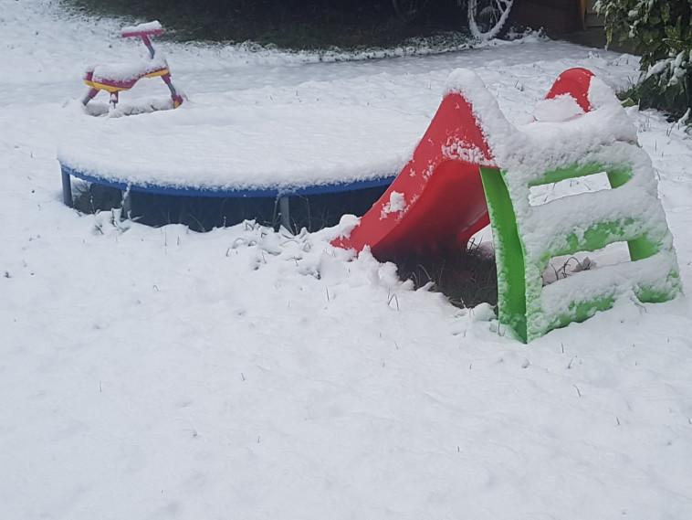 ייתכן שלג בפסגות הצפון ובמרכז (צילום: ערן גליק. באדיבות דוברות התנועה הקיבוצית)