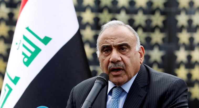 ראש ממשלת עיראק. צילום: REUTERS/Khalid al-Mousily