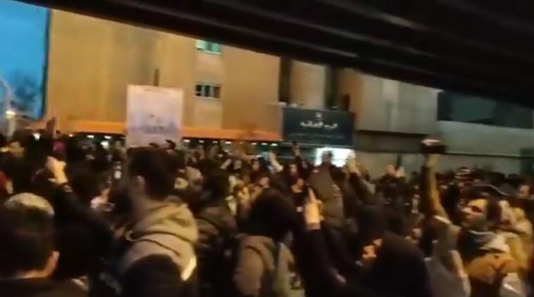הפגנות הסטודנטים באיראן. מתוך הרשתות החברתיות