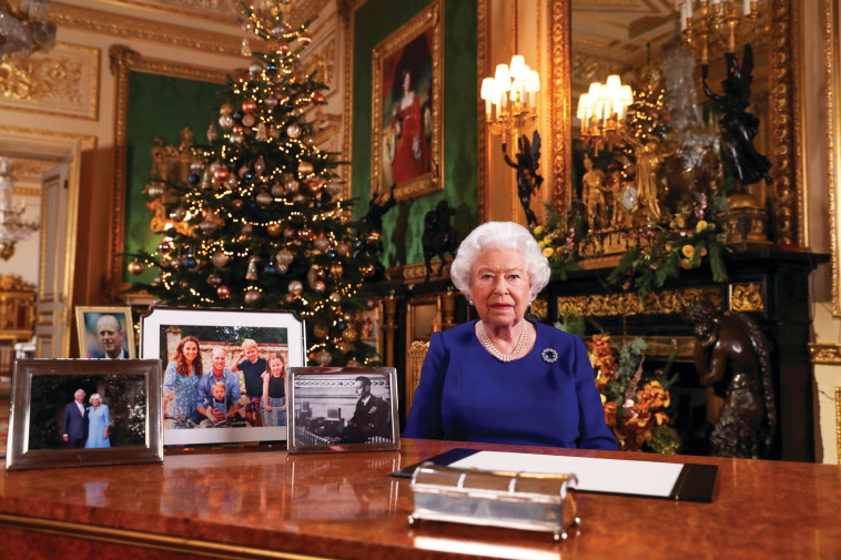 מה המלכה חושבת על המהלך? (צילום: רויטרס)