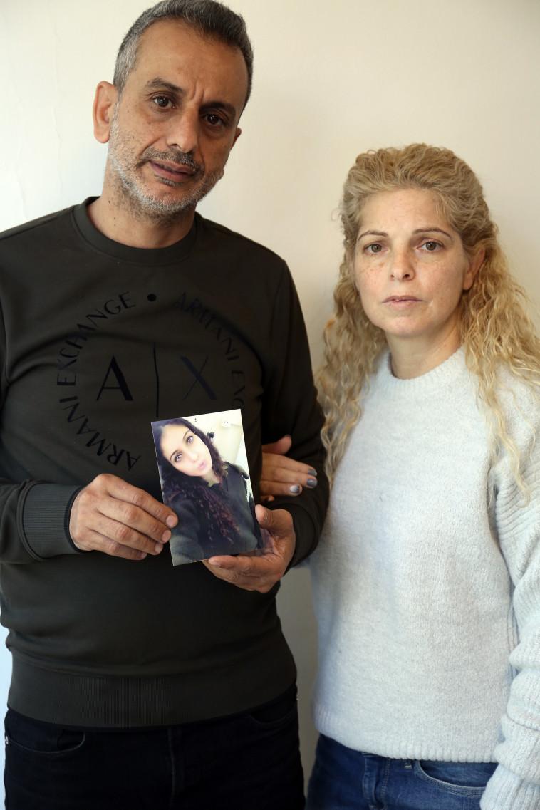 הוריה של סתיו הררי. צילום: אריאל בשור