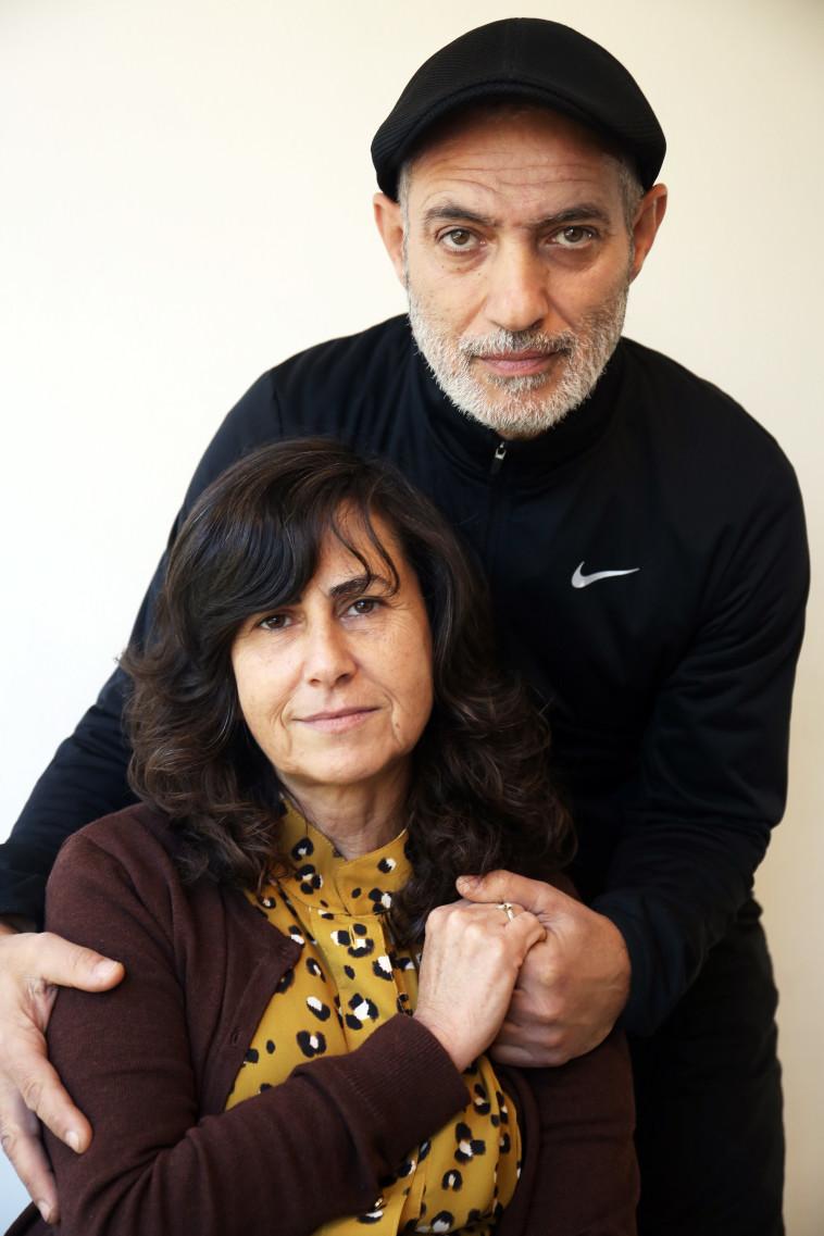 הוריו של דין שושני. צילום: אריאל בשור