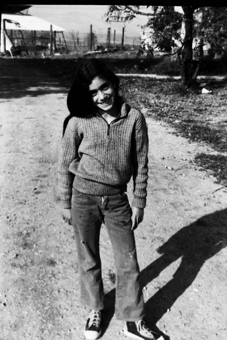 מאיה אב-גיא, 1978. צילום פרטי