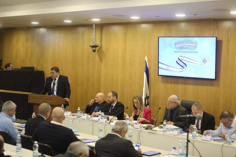הדיון בוועדה. צילום: מרק ישראל סלם