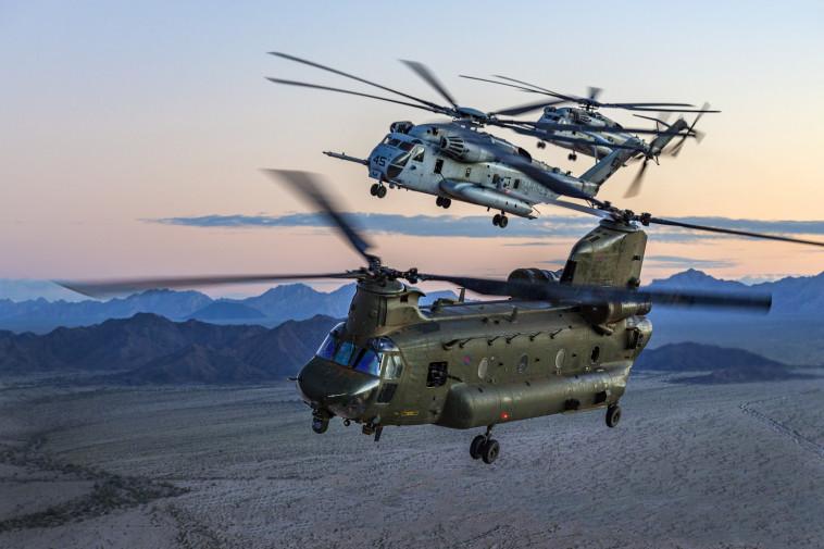 מה יהיה מסוק התובלה הבא של חיל האוויר? היסעור והצ'ינוק (צילום: Cpl Tim Laurence)