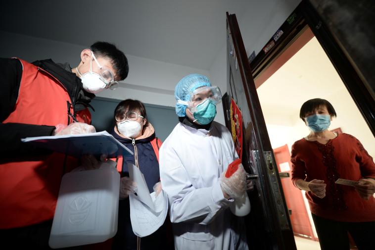 נגיף הקורונה, סין (צילום: רויטרס)