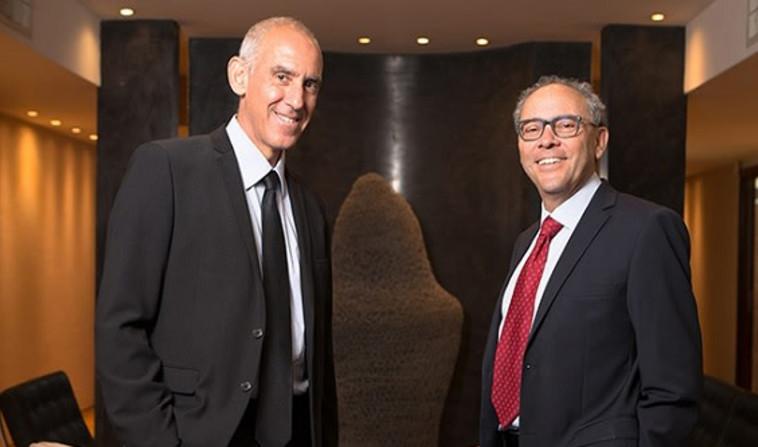 עורכי הדין יוסף רנרט ושהם סלומון (צילום: משרד עורכי דין רנרט-סלומון)