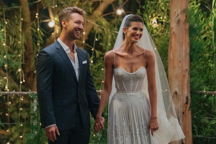 הדר ברייר, דניס רוסקוב, חתונה ממבט ראשון (צילום: קובי מהגר)