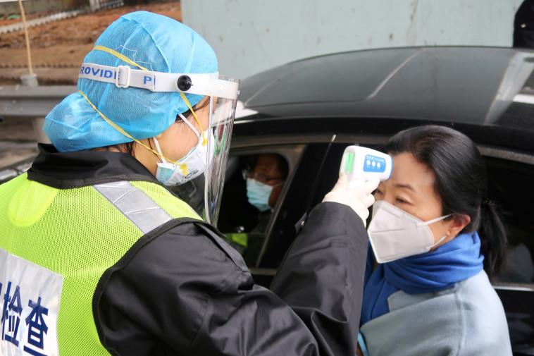נגיף הקורונה בסין (צילום: רויטרס)
