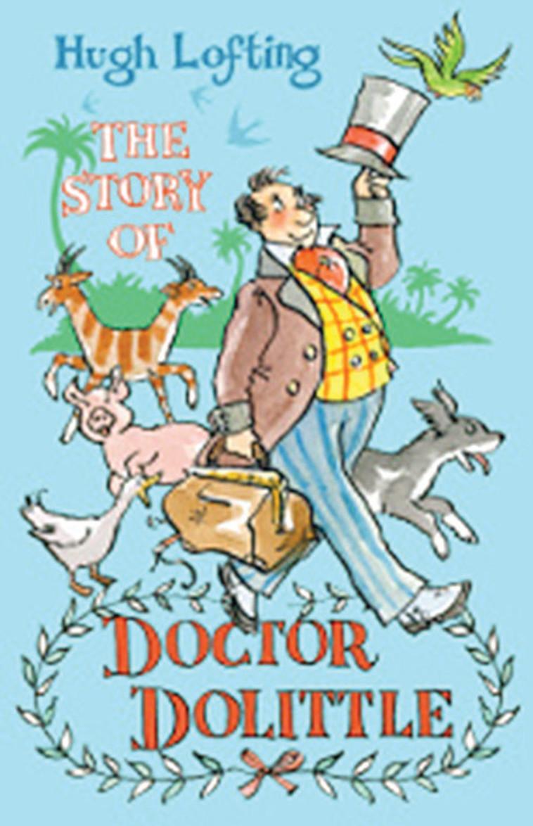 דוקטור דוליטל (צילום: כריכת הספר)