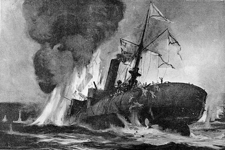 קרב פורט ארתור, איור מתוך ויקיפדיה
