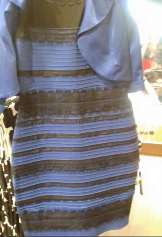 השמלה שהתחילה את הכל (צילום: צילום מסך יוטיוב)