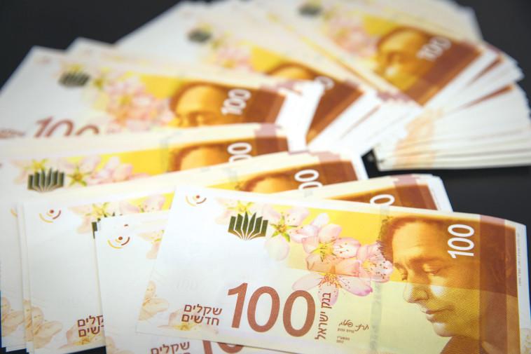 כסף מזומן  (צילום: נתי שוחט, פלאש 90)