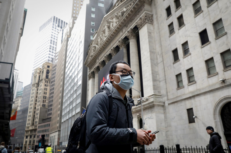 בהלת הקורונה בניו יורק (צילום: רויטרס)