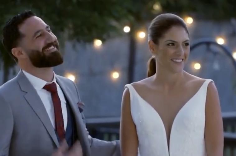 חתונה ממבט ראשון, ניר, הגר (צילום: צילום מסך קשת)
