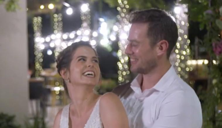 חתונה ממבט ראשון, אמיר ודנית (צילום: צילום מסך קשת)