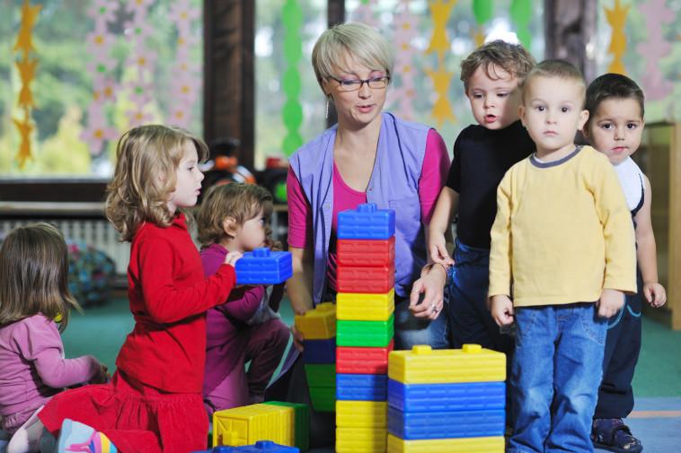 גן ילדים, אילוסטרציה (צילום: ingimages.com)