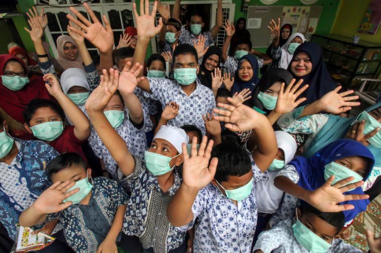 קורונה באינדונזיה (צילום: רויטרס)