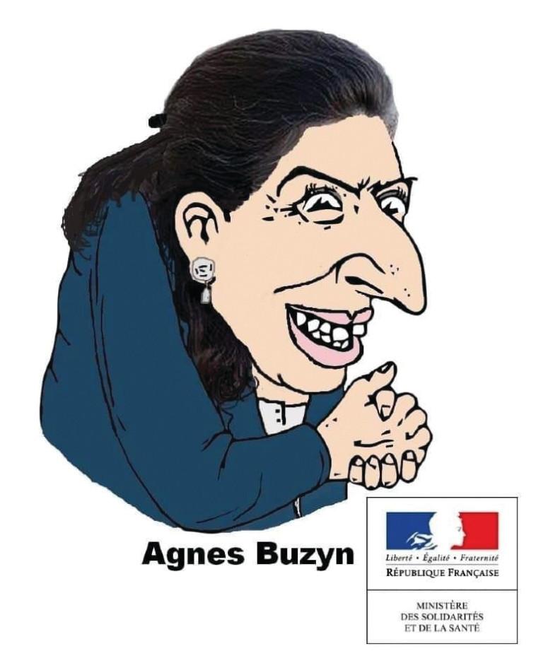 קריקטורה אנטישמית בצרפת (צילום: צילום מסך)