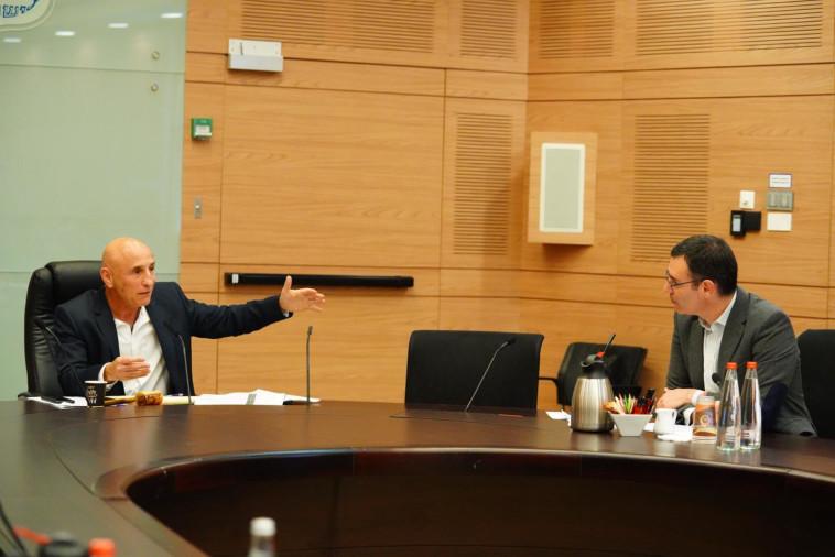 מנכ''ל משרד הבריאות בוועדת הקורונה (צילום: עדינה וולמן, דוברות הכנסת)