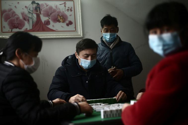 קורונה בסין (צילום: רויטרס)