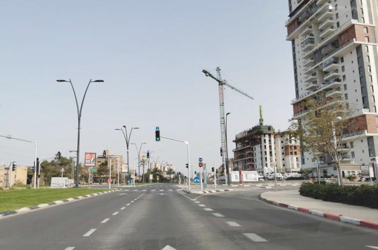 עיר רפאים. באר שבע (צילום: יאסר עוקבי)