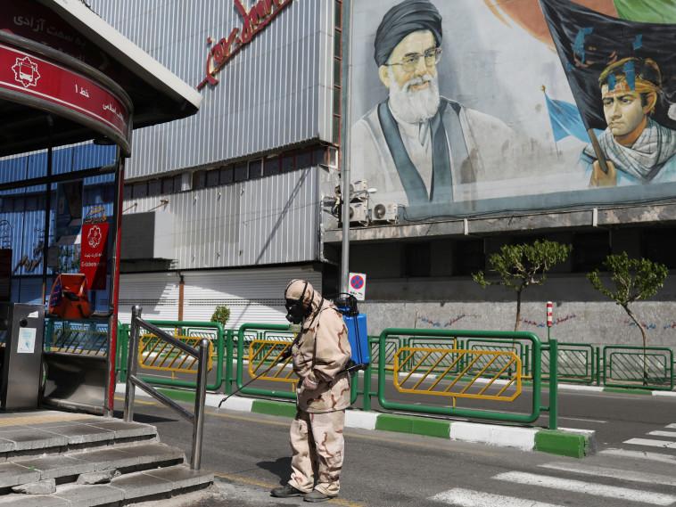 קורונה באיראן  (צילום: WANA (West Asia News Agency)/Ali Khara via REUTERS)