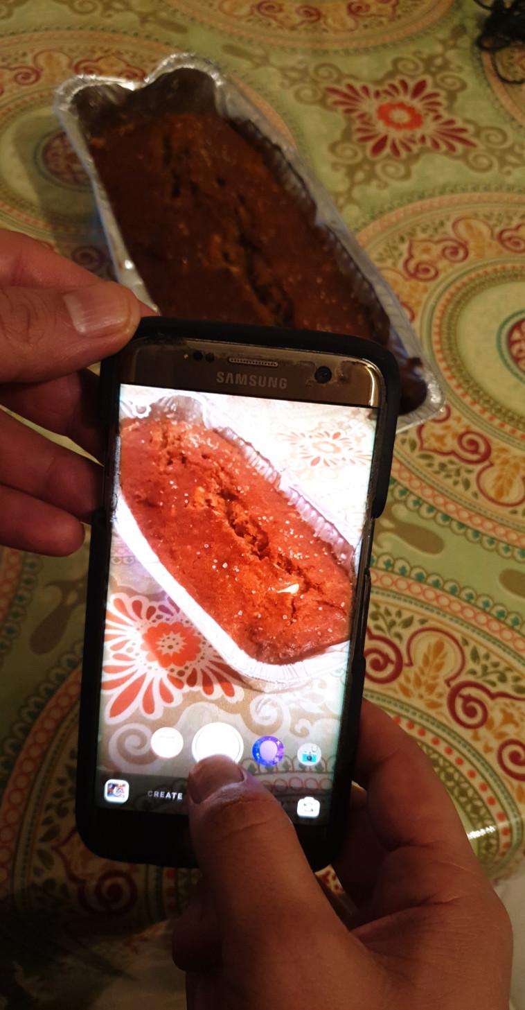 עוגה באינסטגרם (צילום: יוסי יוסף)