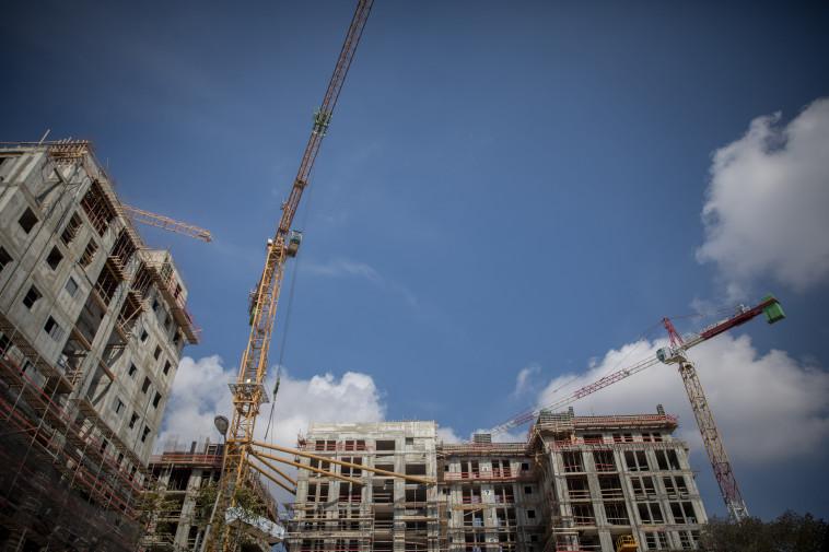 אתר בנייה בירושלים, ארכיון (צילום אילוסטרציה: יונתן זינדל, פלאש 90)
