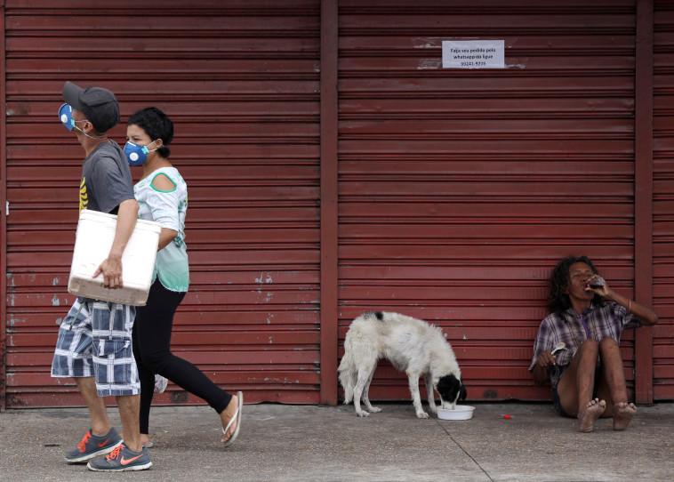 קורונה בברזיל (צילום: רויטרס)