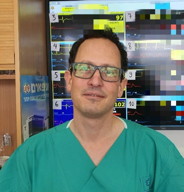 יגאל הרופא (צילום: דוברות שערי צדק)